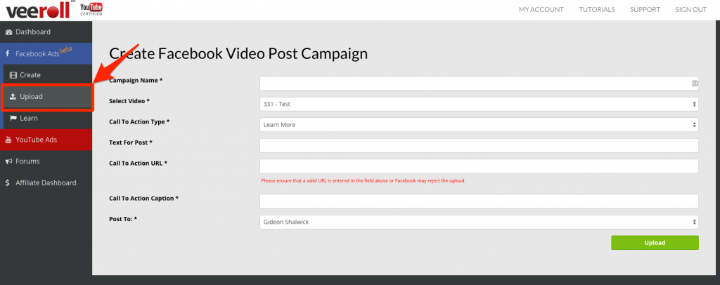 Create_Facebook_Video_Post_Campaign___Veeroll