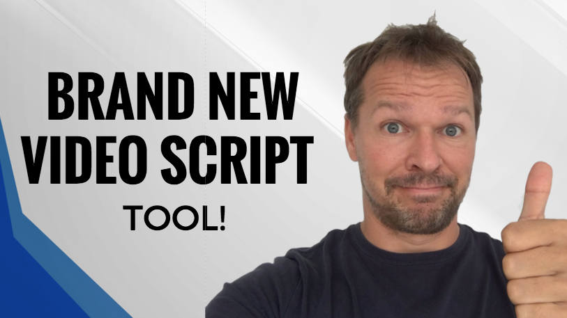 video script suggestions tool